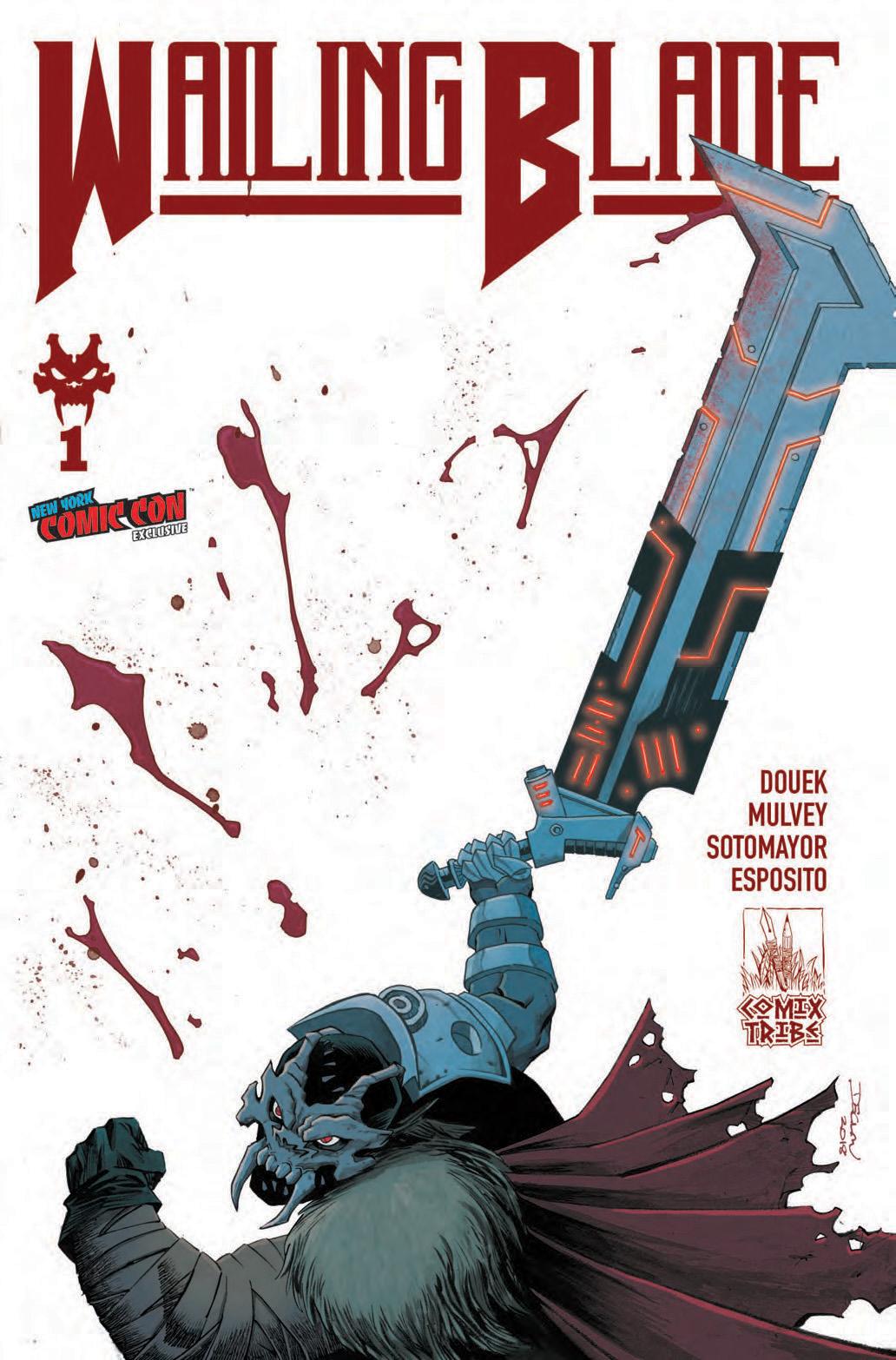 Rich Douek, Wailing Blade #1