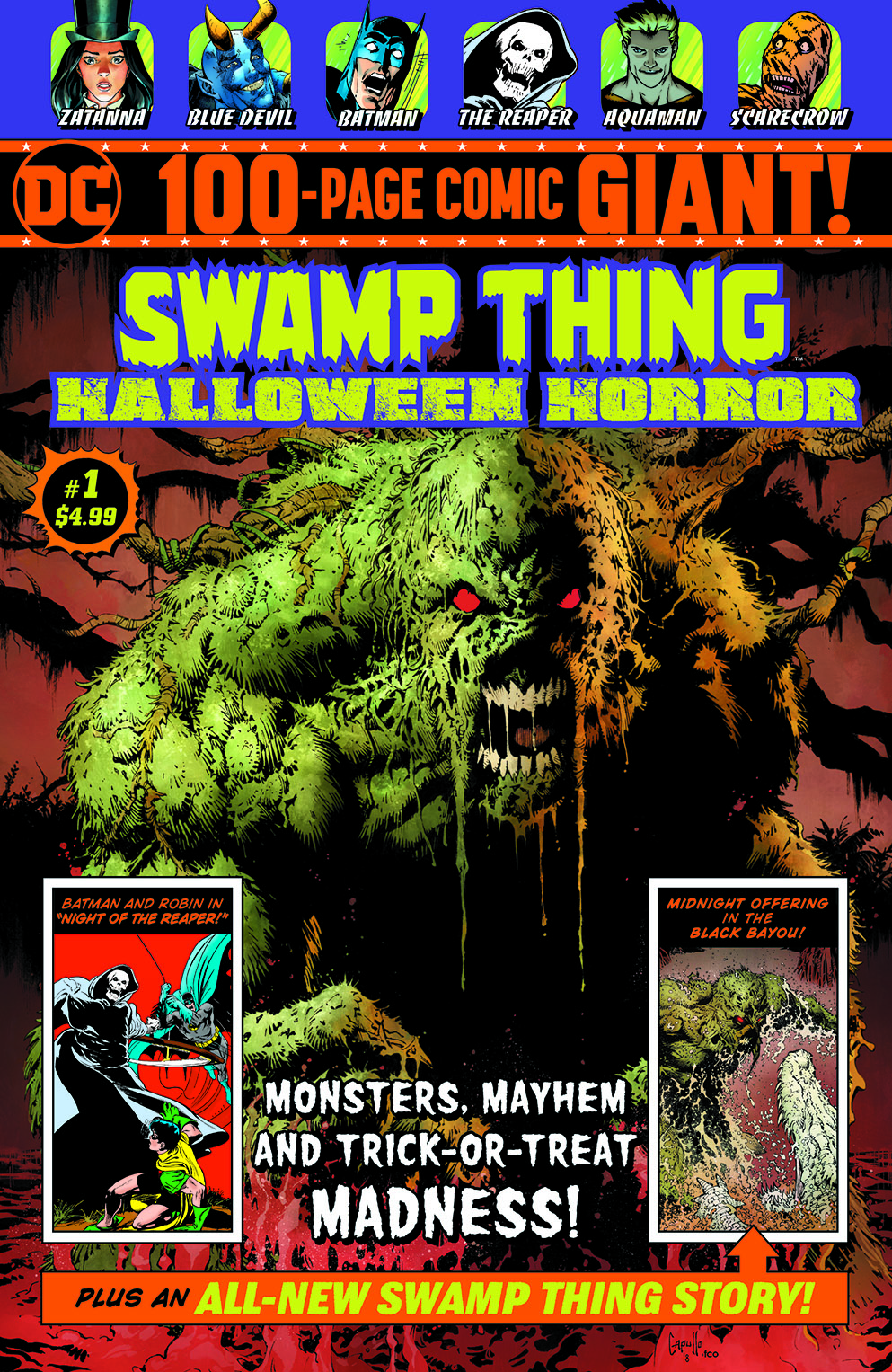 SWAMP THING HALLOWEEN HORROR SPECIAL