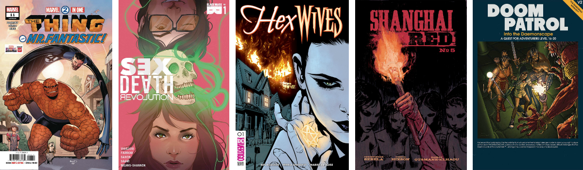 Jumping to January Solicits — CASUAL WEDNESDAYS WITH DOOMROCKET