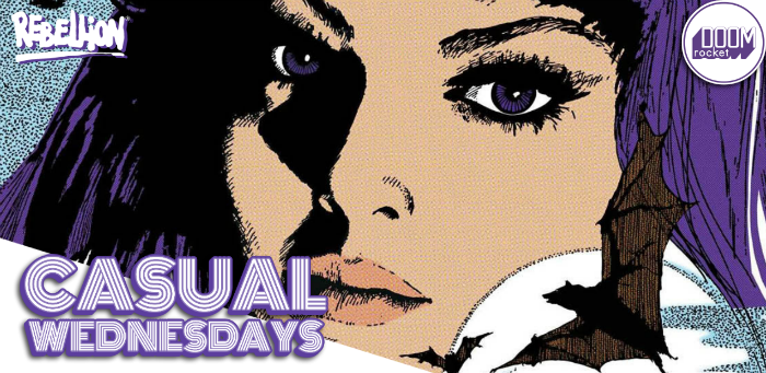 Cool Creepy Comics — CASUAL WEDNESDAYS WITH DOOMROCKET