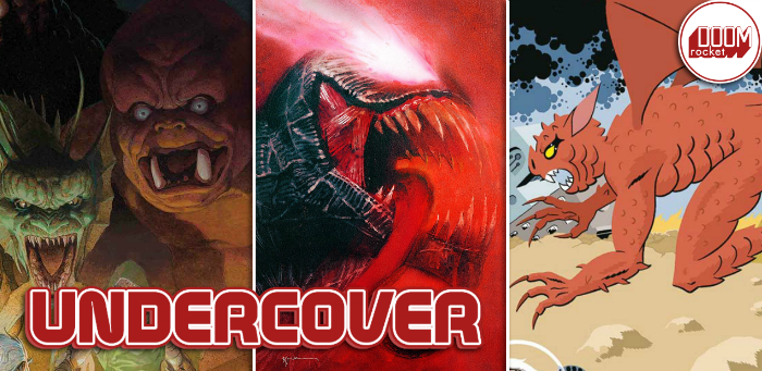 Undercover: With variants for 'Cover', 'Venom', Sienkiewicz is ever our king