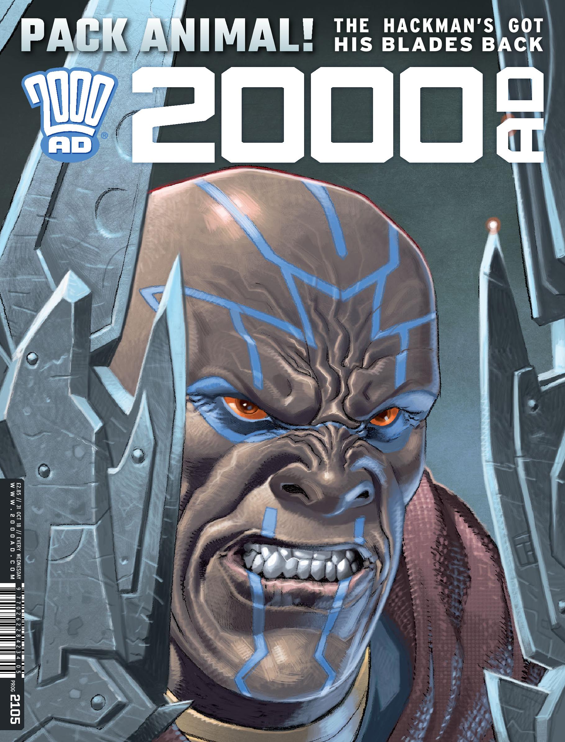 2000 AD PROG 2105