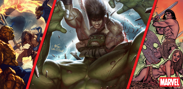 Marvel rolls out the bear-skinned rug for Conan the Barbarian with two themed variant months