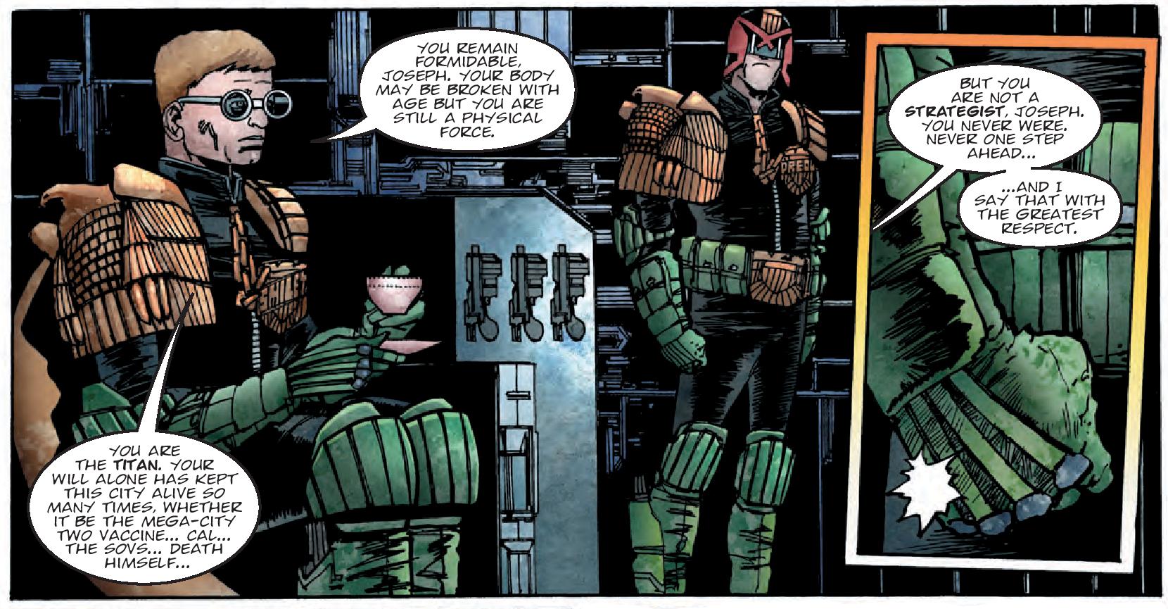 Judge Dredd: The Small House 2000 AD