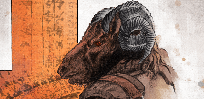 A goat-man hunts witches in AfterShock's debut OGN 'Witch Hammer'