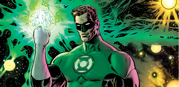 An intergalactic lawman gets down to basics in 'The Green Lantern' #1
