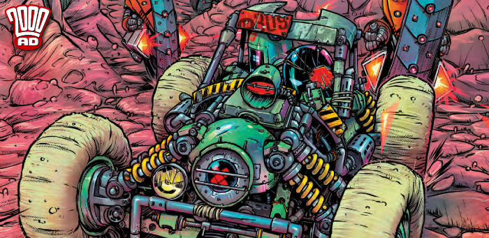 "Preview: ""Infestinauts Are Go!"" brings the 3rills in '2000 AD' Prog 2108"