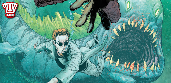 "Preview: 'Sinister Dexter' dives into ""The Sea Beneath the City"" in '2000 AD' Prog 2109"