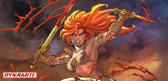 Dynamite announces 'Red Sonja' revival in 2019 with Russell, Colak, Kelly & Otsmane-Elhaou