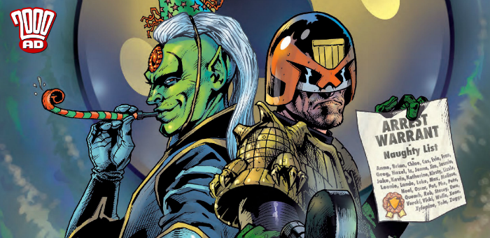 Preview: Mighty Tharg scorches synapses with 100-page '2000 AD' Bumper Prog