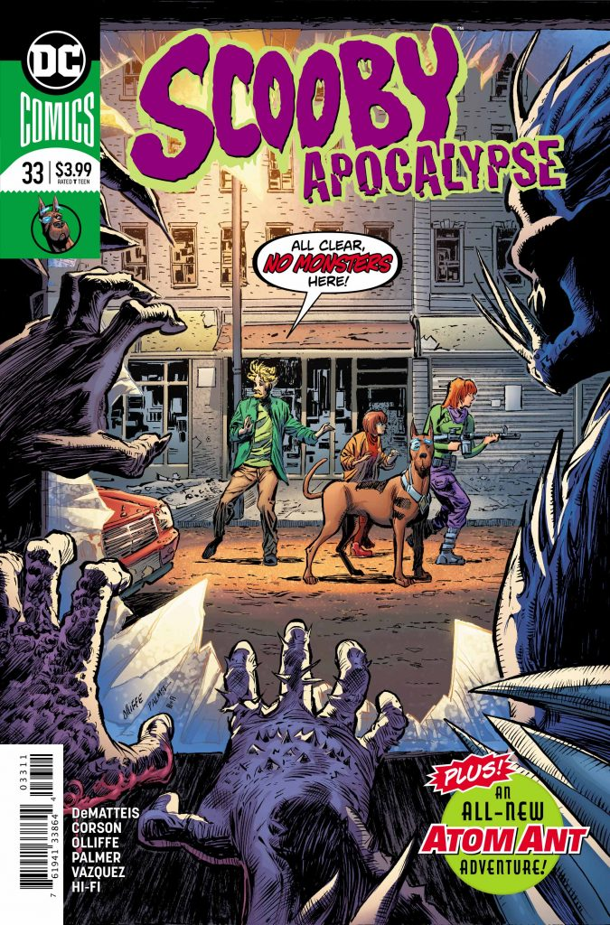 Exclusive Preview: Scooby Apocalypse #33