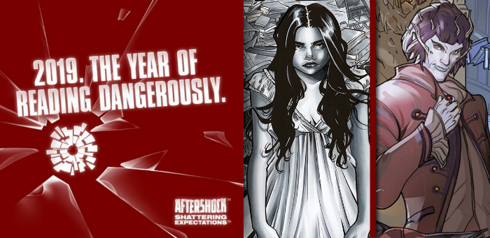 "AfterShock announces a new campaign for a new year: ""The Year of Reading Dangerously"""