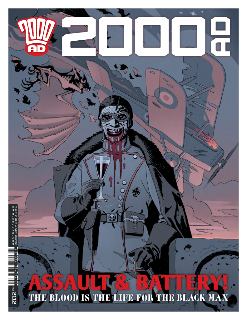 2000 AD Prog 2112: Fiends of the Eastern Front