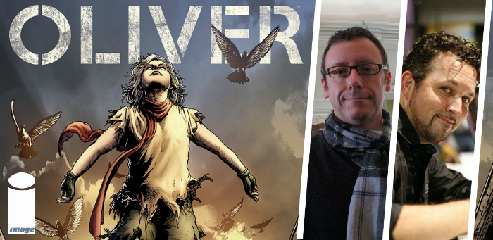 10 things concerning Gary Whitta, Darick Robertson, and the post-Dickens world of 'Oliver'