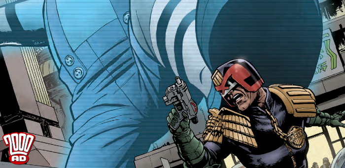Preview: Jeff Anderson is back, back into the Mega-City groove with '2000 AD' Prog 2113
