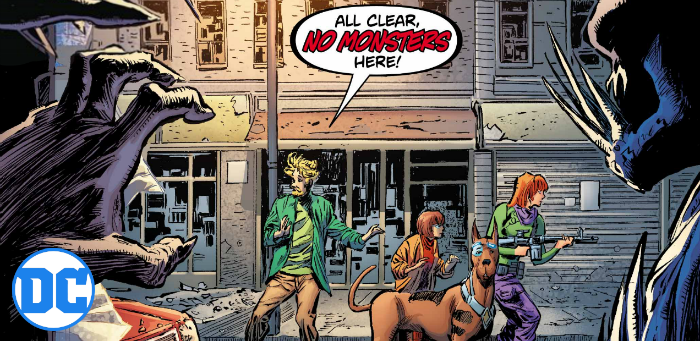 EXCLUSIVE: Fred Jones' ascot now serves an ickier purpose in 'Scooby Apocalypse' #33