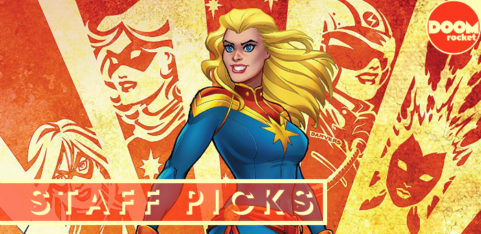 Staff Picks: Carol Danvers takes flight once more in 'Captain Marvel' #1