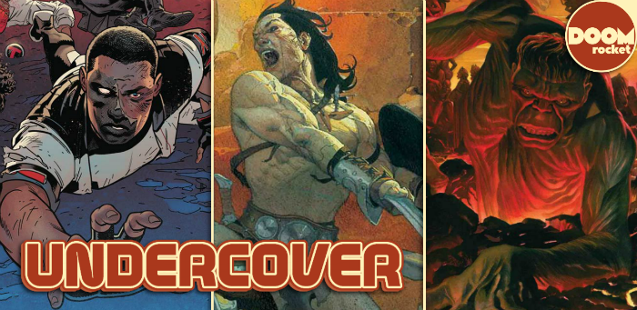 Undercover: Ribić takes us to Frazetta school with 'Conan the Barbarian' #1