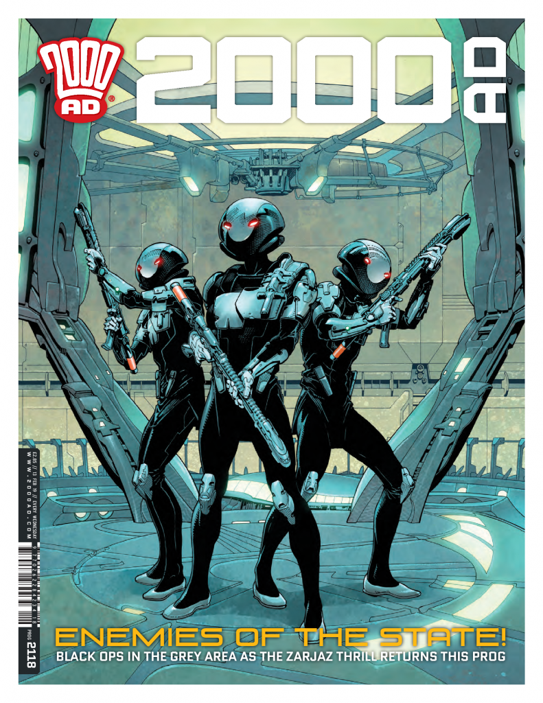 The Grey Area returns in 2000 AD Prog 2118