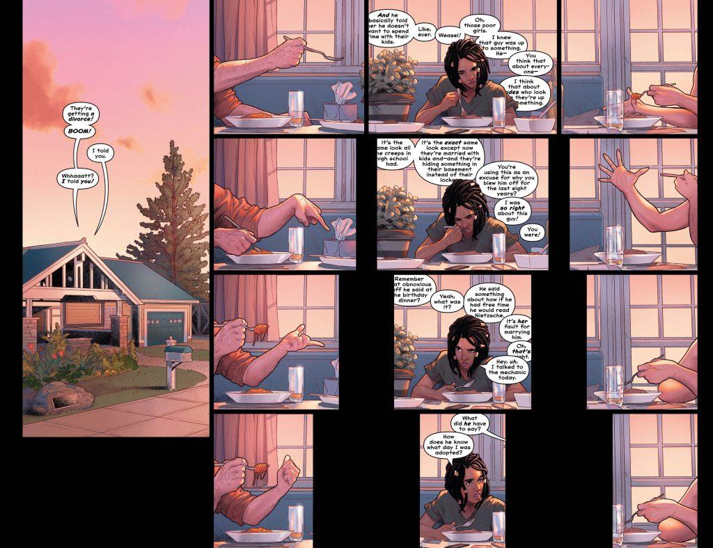 A secret Secret Origin elevates Wonder Comics' captivating 'Naomi