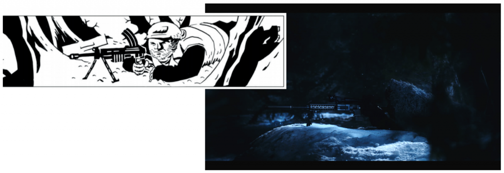 Panel vs. Frame: 'Polar'