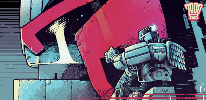 Preview: Dredd makes moves against mounting machine might in '2000 AD' Prog 2119