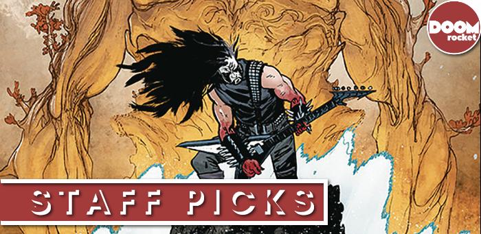 Staff Picks: Your favorite kaiju-killing cyborg warrior returns in 'Murder Falcon' #5