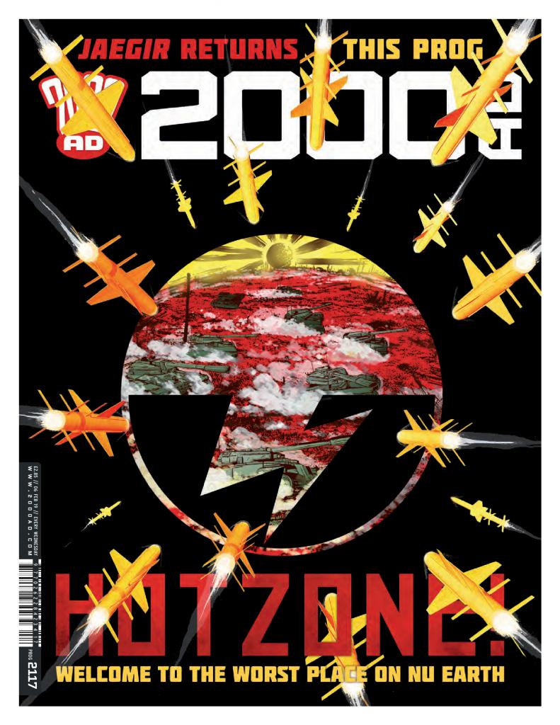 Preview: '2000 AD' Prog 2117: Jaegir: Bonegrinder