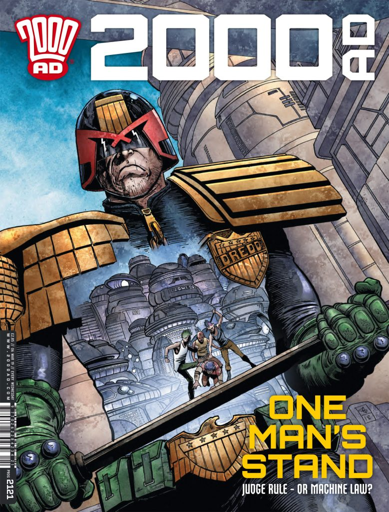 Preview: '2000AD' Prog 2121