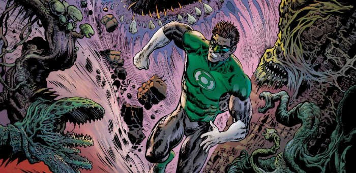 'The Green Lantern' #5 a truly stimulating descent into a galactic vampire hell