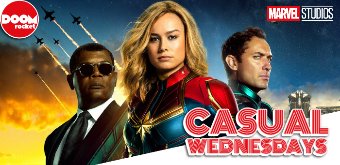 Hold onto yer flerken, here comes some 'Captain Marvel' spoiler chat — CASUAL WEDNESDAYS
