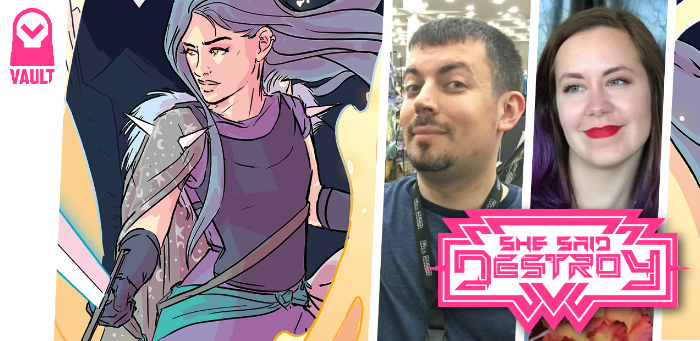 10 things concerning Joe Corallo, Liana Kangas, and 'She Said Destroy'