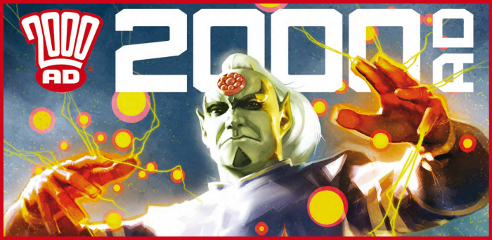 Preview: The coming of Mighty Tharg heralds four ferocious finales in '2000 AD' prog 2122