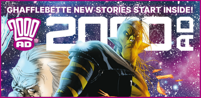 Preview: '2000 AD' Prog 2123 boasts a double-length 'Kingmaker' shocker
