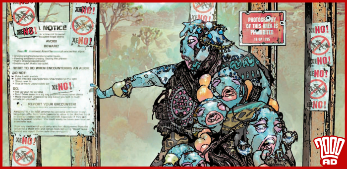 Preview: Bulliet contemplates a forever-changed 'Grey Area' in '2000 AD' prog 2125