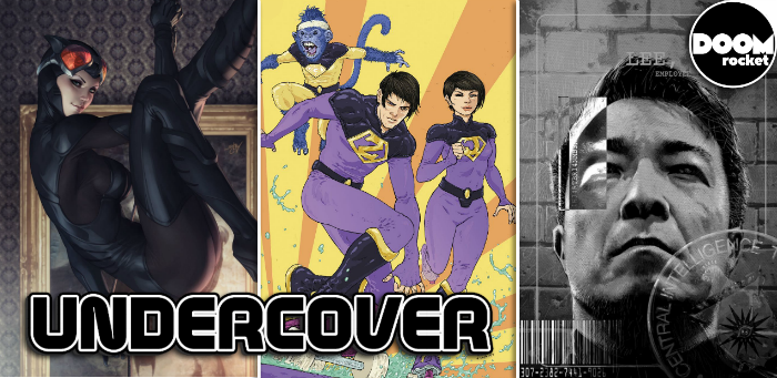 Undercover: 'Cover' #6 finds Jim Lee ready for his assignment as comics' final boss