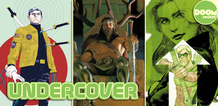 Undercover: Doc Shaner's comic cover hat trick culminates with a 'Green Arrow' bullseye