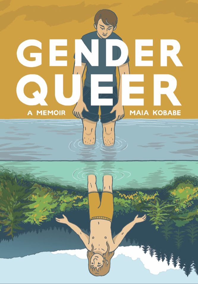 Cover to 'Gender Queer: A Memoir'. Art: Maia Kobabe/Lion Forge
