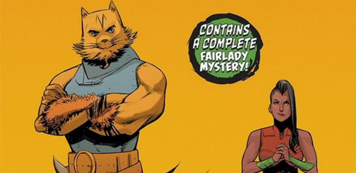 'Fairlady' #1 a sly mash-up of noir mystery and high fantasy derring-do