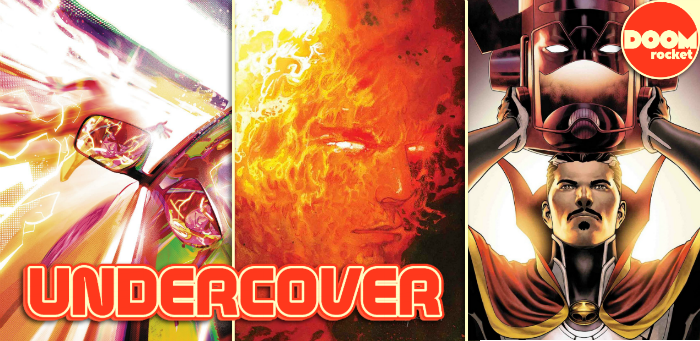Undercover: A fiery Sienkiewicz variant lets 'Fantastic Four' go supernova