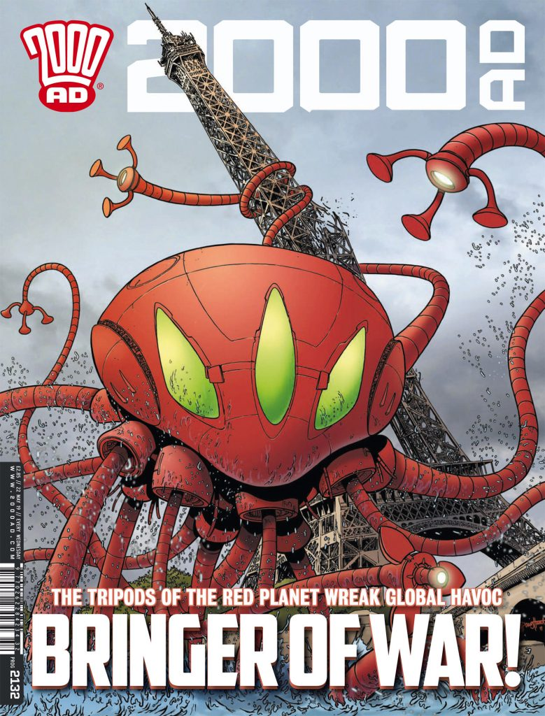 2000 AD Prog 2132 Preview