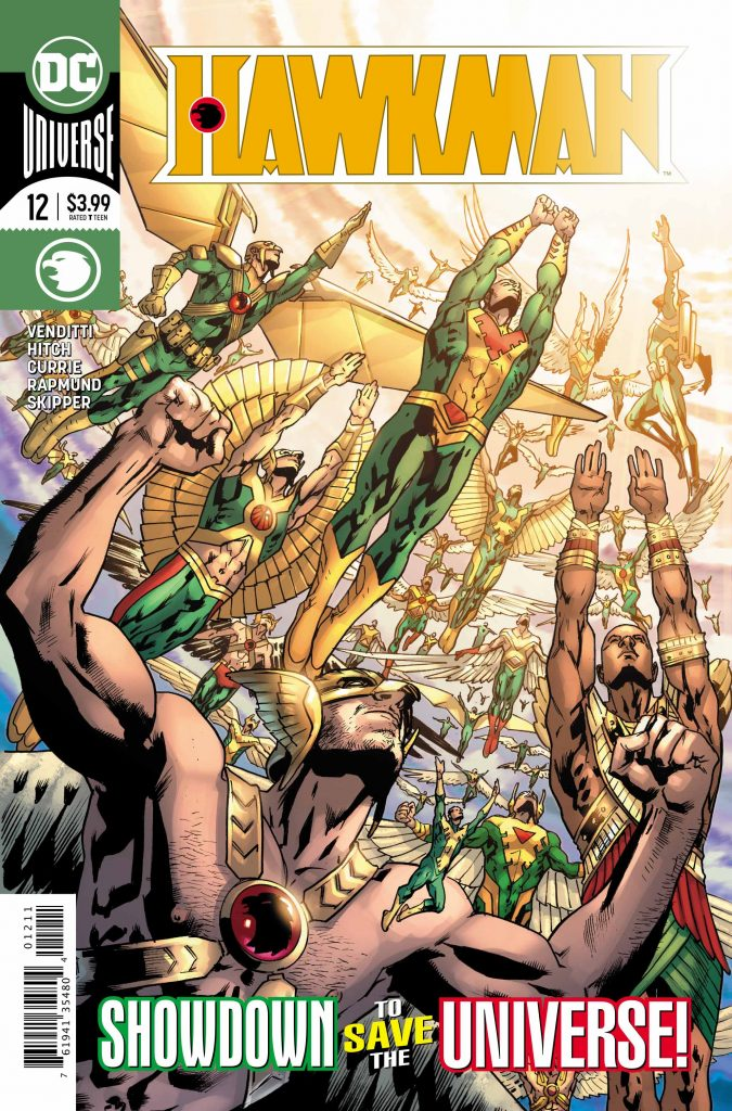 'Hawkman' #12: The DoomRocket Review