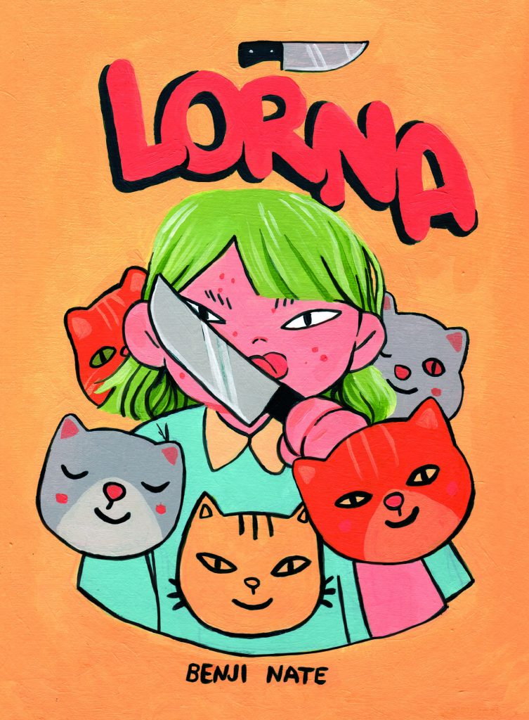 Preview: Slice-of-life comix get a savage twist of the blade in 'Lorna'