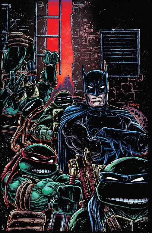 Undercover: Kevin Eastman goes iconic with his preposterously good 'Batman/TMNT III' variant