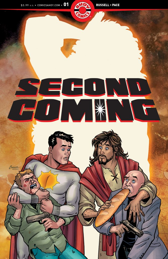 9 things concerning Tom Peyer, 'Second Coming', and the next wave of AHOY Comics