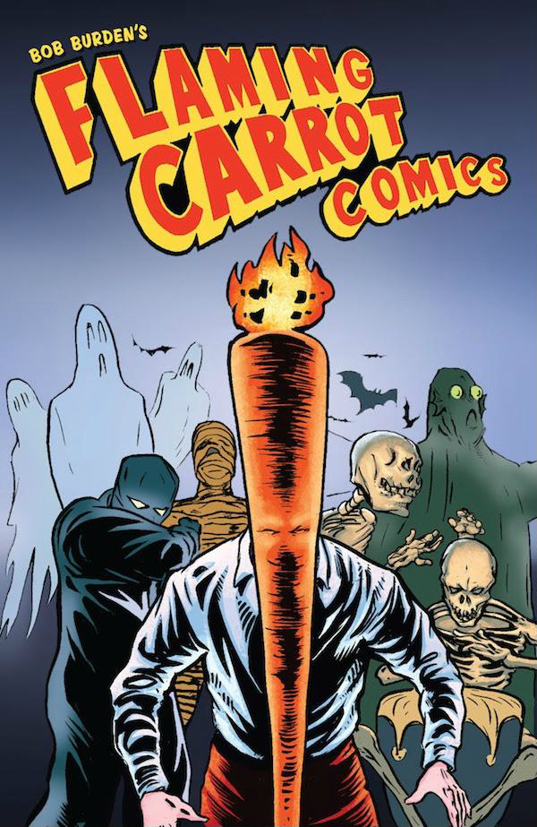 EXCLUSIVE: Ut! Enjoy a 37-page preview of Dark Horse's 'The Flaming Carrot Omnibus'