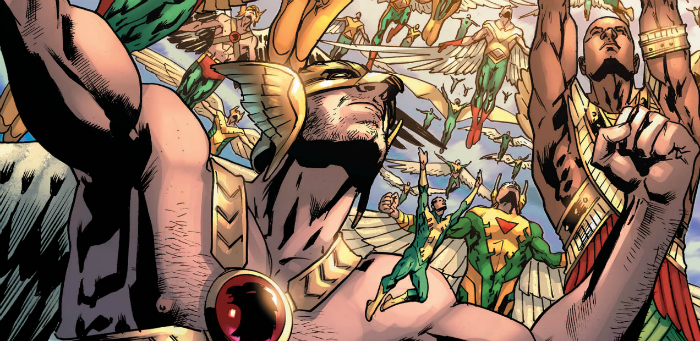 'Hawkman' #12 a heartening culmination for DC's character-defining series