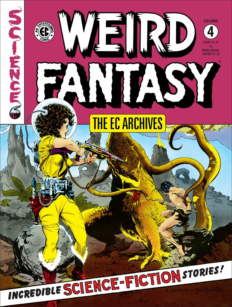 EXCLUSIVE: 'EC Archives: Weird Fantasy' Vol. 4
