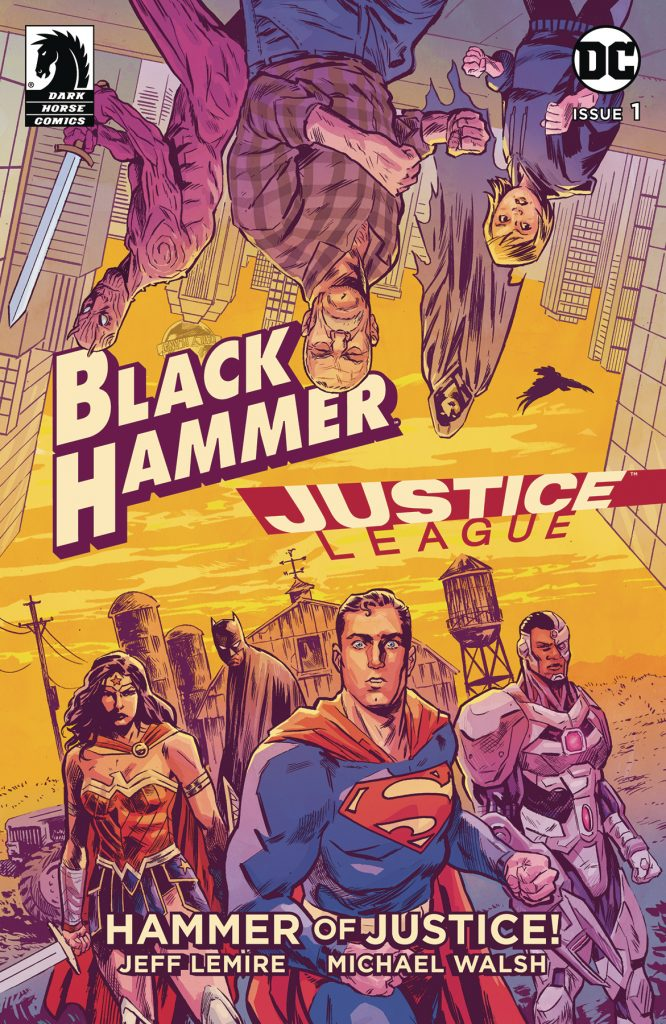 'Black Hammer/Justice League: Hammer of Justice' #1: The DoomRocket review