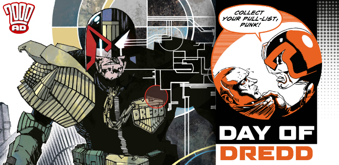 Celebrate Ol' Stoney Face on September 7 with 'The Day of Dredd'